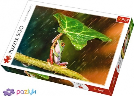 500 ел. - Зелена парасолька / Trefl