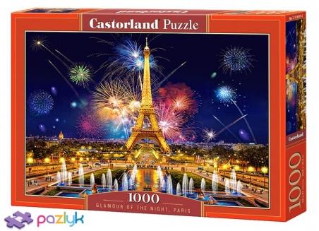 1000 ел. - Нічний гламур Парижу / Castorland