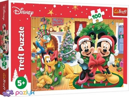 100 эл. - Мышка Микки. Праздничная магия / Disney Standard Characters / Trefl