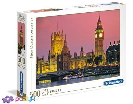 500 эл. High Quality Collection - Лондон. Биг-Бен / Clementoni