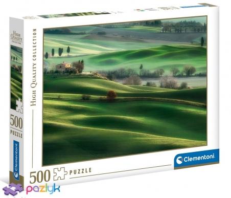 500 эл. High Quality Collection - Тосканские холмы / Clementoni