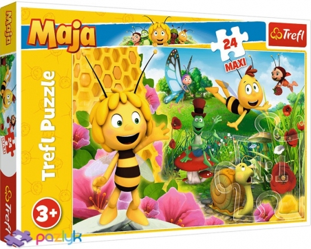 24 эл. Макси - Мир Пчелки Майи / Studio 100 Maya the Bee / Trefl