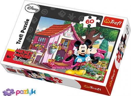 60 ел. – Міккі і Мінні в саду / Disney Standard Characters / Trefl