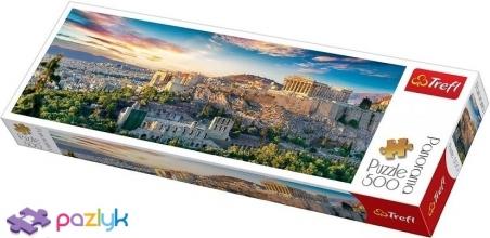 500 ел. Panorama - Вид на Акрополь, Афіни, Греція / Trefl