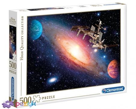 500 эл. High Quality Collection - Международная космическая станция / Clementoni