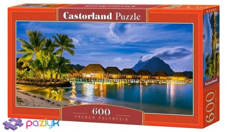 600 эл. - Французская Полинезия / Castorland