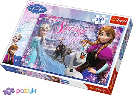 260 эл. - Холодное сердце. Любовь в стране Льда / Disney Frozen / Trefl
