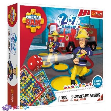 01897 Ігровий комплект Лудо / Змії та драбини -