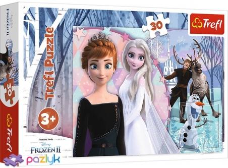 30 эл. - Холодное сердце-2. Магическая страна льда / Disney Frozen 2 / Trefl