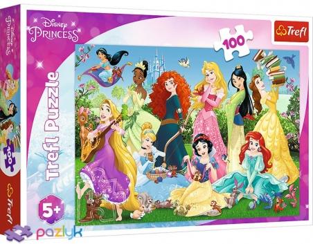100 эл. - Очаровательные Принцессы / Disney Princess / Trefl