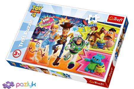 24 ел. Максі - Історія іграшок-4. В погоні за пригодою / Disney Toy Story-4 / Trefl