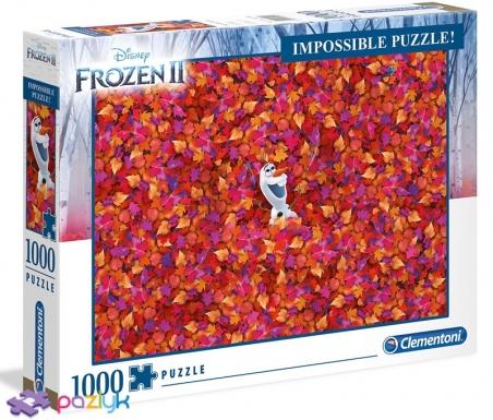 1000 ел. Impossible - Крижане серце 2 / Disney Frozen 2 / Clementoni