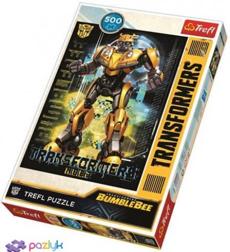 500 ел. - Бамблбі. Опір Автоботів / Hasbro Transformers / Trefl