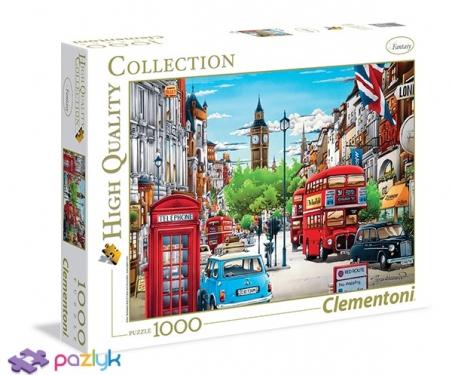 1000 эл. High Quality Collection - Шунтаро Таникава. Лондон / Clementoni