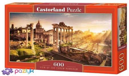 600 ел. - Римський форум, Італія / Castorland