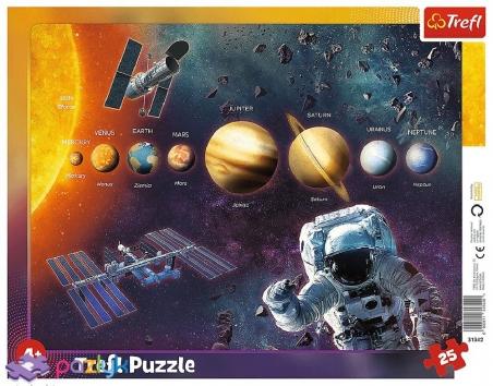 25 эл. Рамочные - Солнечная система / Trefl