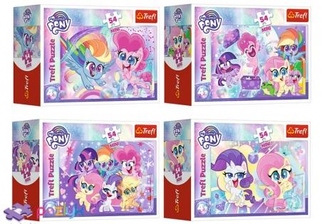 54 эл. Мини - Забавные Маленькие Пони / Hasbro, My Little Pony / Trefl