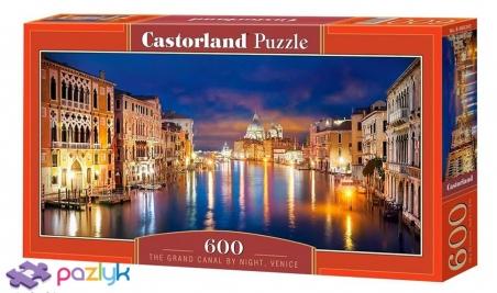 600 ел. - Гранд-канал уночі, Венеція / Castorland