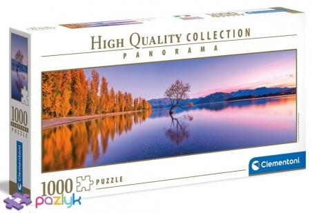 1000 эл. Panorama High Quality Collection - Одинокое дерево озера Ванака, Новая Зеландия / Clementoni
