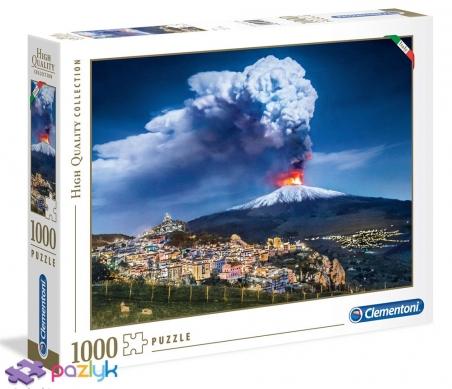 1000 ел. - Італійська колекція. Вулкан Етна / Clementoni