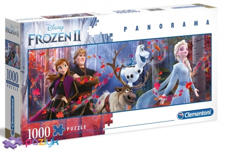 1000 эл. Панорама - Холодное сердце-2 / Disney Frozen 2 / Clementoni