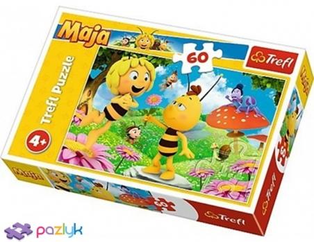 60 эл. - Цветок для Пчелки Майи / Studio 100 Maya the Bee / Trefl