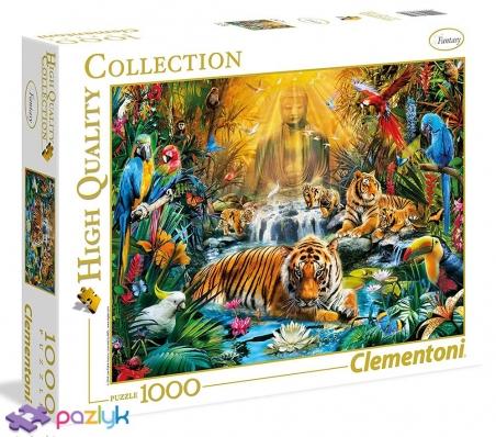 1000 ел. High Quality Collection - Ян Патрік Красни. Містичні тигри / MGL / Clementoni