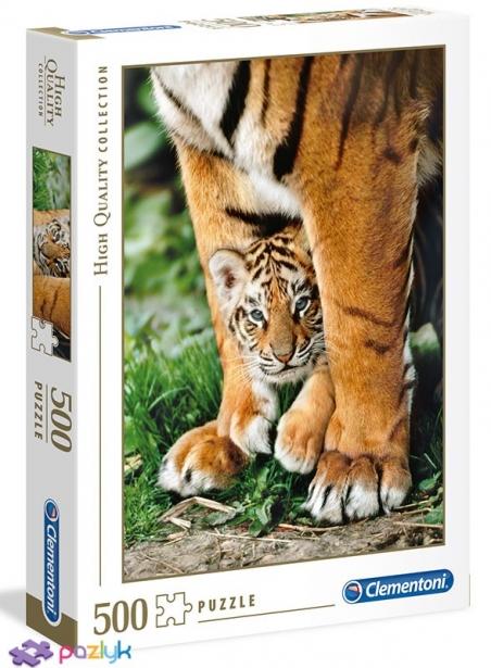 500 эл. High Quality Collection - Детеныш бенгальского тигра / Clementoni