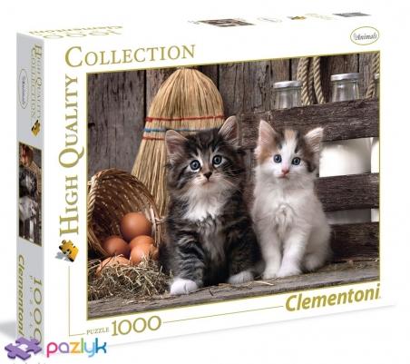 1000 ел. High Quality Collection - Милі кошенята / Clementoni