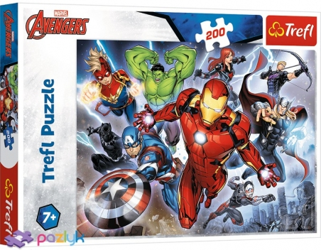 200 эл. - Могучие Мстители / Disney Marvel The Avengers / Trefl