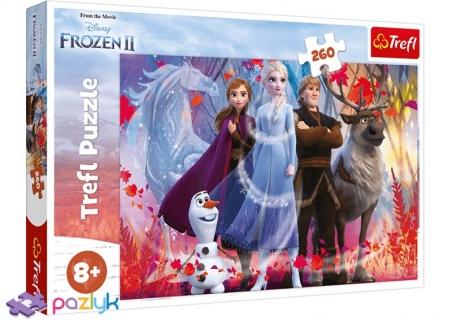 260 ел. - Крижане серце-2. У пошуках пригод / Disney Frozen 2 / Trefl
