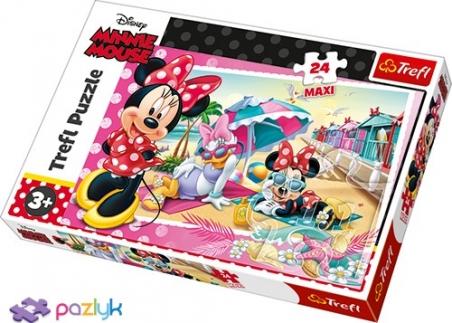 24 эл. Макси - Каникулы Мышки Минни / Disney Minnie / Trefl