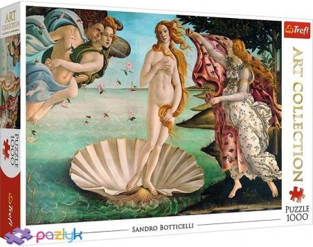 1000 эл. Art Collection - Сандро Боттичелли. Рождение Венеры / Bridgeman / Trefl