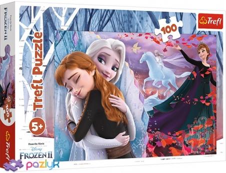 100 эл. - Холодное сердце-2. Навсегда вместе / Disney Frozen 2 / Trefl