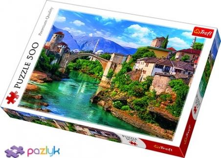 500 эл. - Старый мост в городе Мостар, Босния и Герцеговина / Fotolia / Trefl