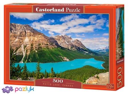 500 ел. - Озеро Пейто, Канада / Castorland