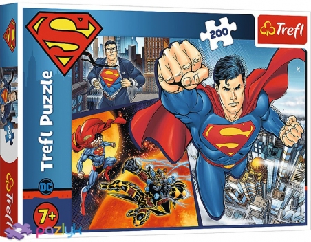 200 ел. - Герой Супермен / Warner Superman / Trefl
