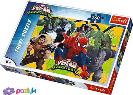 260 ел. - Спайдермен в дії / Disney Marvel Spiderman / Trefl