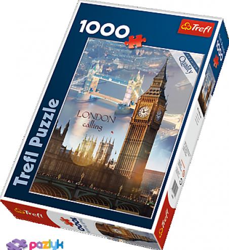 1000 эл. - Лондон на рассвете / Trefl