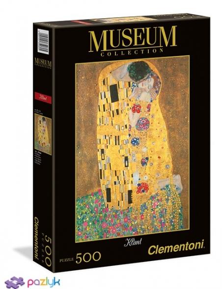 500 ел. Музейна Колекція - Густав Клімт. Поцілунок / Clementoni