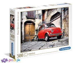 500 эл. High Quality Collection - Красный Fiat 500 / Clementoni