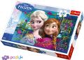 100 эл. - Холодное сердце. Анна и Эльза / Disney Frozen / Trefl