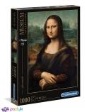 1000 эл. Музейная Коллекция - Леонардо да Винчи. Мона Лиза / Clementoni