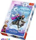 100 эл. - Холодное сердце. На спасение Анны / Disney Frozen / Trefl