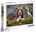 1000 ел. High Quality Collection - Собака біля водоспаду / Clementoni