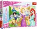 100 эл. - Мечта быть Принцессой / Disney Princess / Trefl
