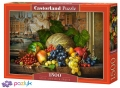 1500 эл. - Натюрморт с фруктами / Castorland