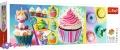 1000 эл. Panorama - Цветные пирожные / Trefl