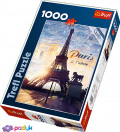 1000 эл. - Париж на рассвете / Trefl