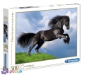 500 ел. High Quality Collection - Фризький чорний кінь / Clementoni